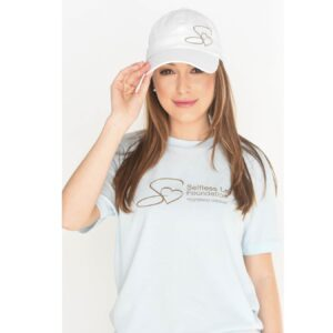 selfless-love-foundation-swag-baseball-cap-white