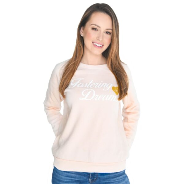 selfless-love-foundation-swag-fostering-dreams-pink-long-sleeve-sweater